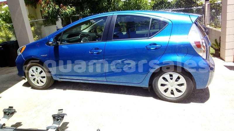 Buy Used Toyota Prius c Blue Car in Yigo in Yigo - Guamcarsales