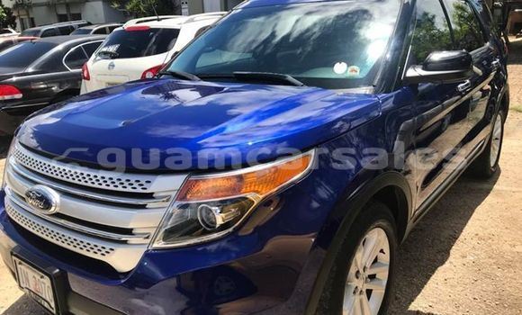 Buy Used Ford Explorer Blue Car in Tamuning in Tamuning