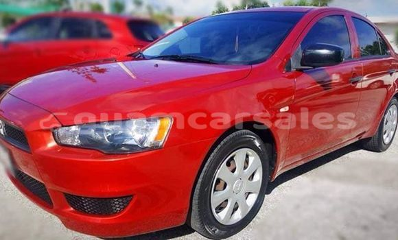 Buy Used Mitsubishi Lancer Red Car in Dededo in Dededo