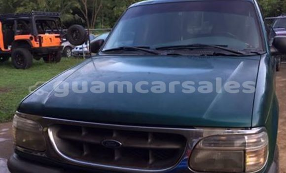 Buy Imported Ford Explorer Green Car in Agat in Agat