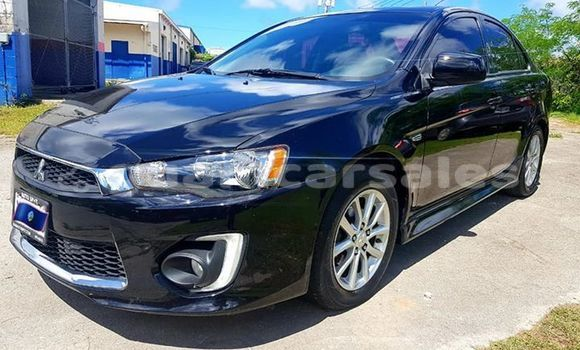 Buy Import Mitsubishi Lancer Black Car in Dededo in Dededo