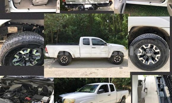 Buy Used Toyota Tacoma White Car in Toto in Mongmong-Toto-Maite